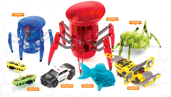 Hexbugs are ready for easter oxgadgets for Hex bugs fish