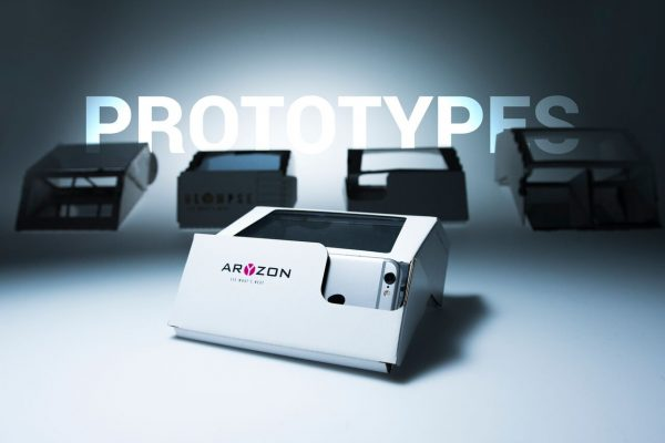 aryzon headset cardboard augmented reality