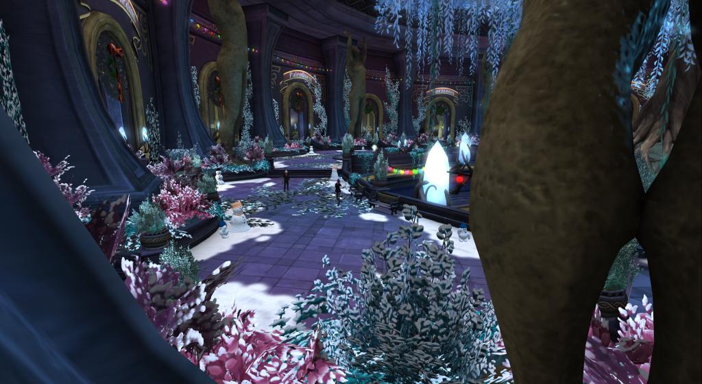 Portal Park, a gateway to adventure! Second Life.