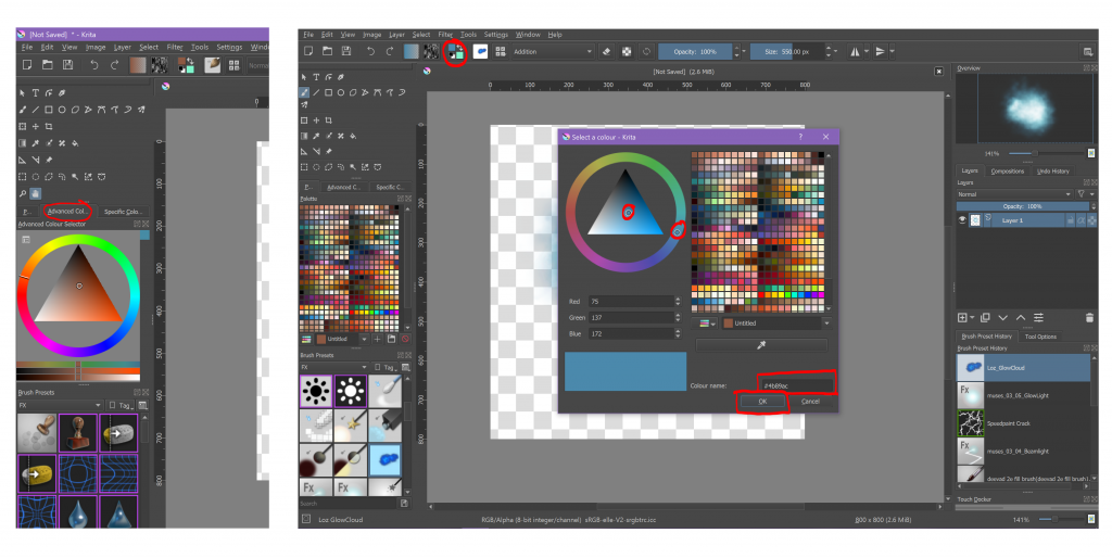 apps, art, beginners, configuration, configure, desktop, digital art, guide, how to, krita, open source, photoshop, programs, raster, raster art, raster editor, set up, technology, tutorial, tutorials, windows 10, workspace, reset, save, personalise, switch, adjust, theme, colour, color, palettes, swatches, high dpi, greyed out menu, fix,