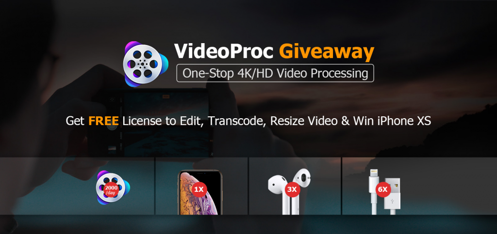 Video Proc Giveaway