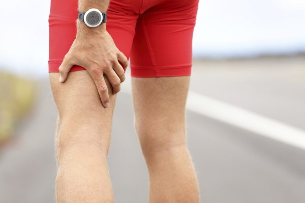 Injured runner in need of physio