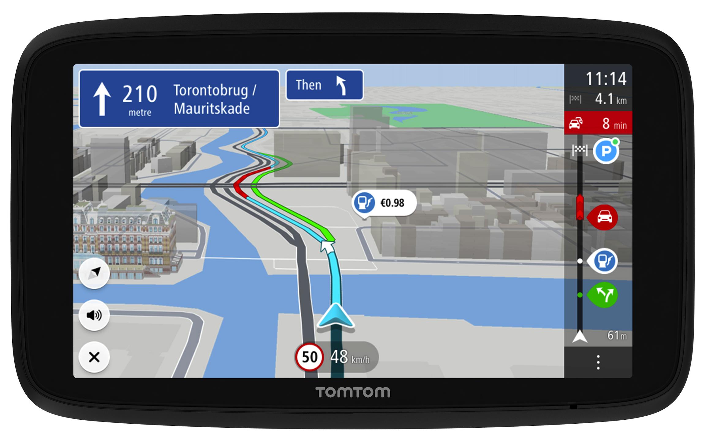 tomtom navigation device