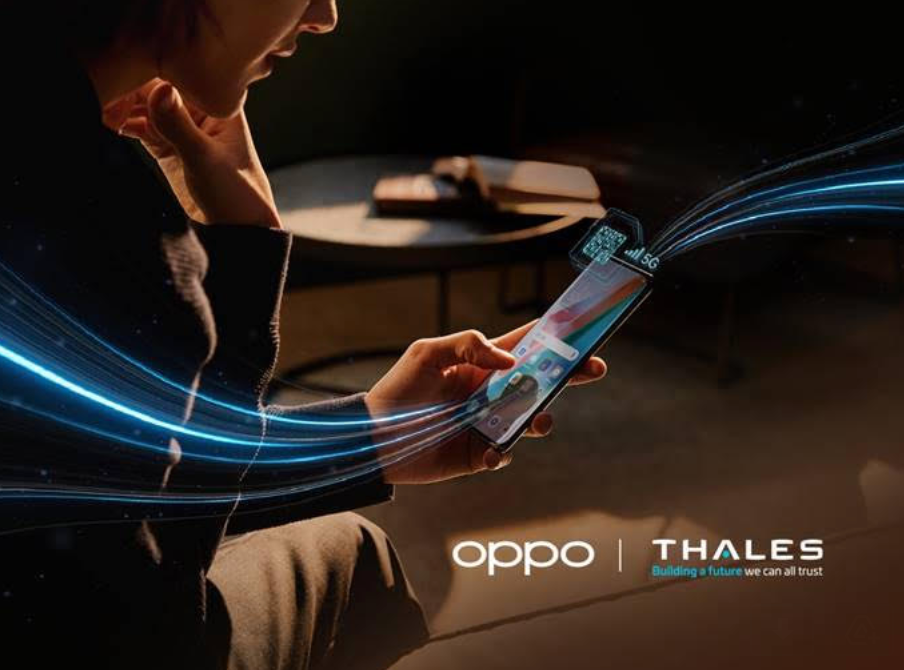 Oppo and Thales eSIM