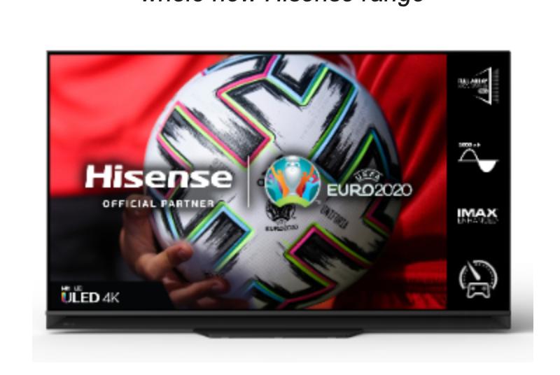 Hisense TV Range